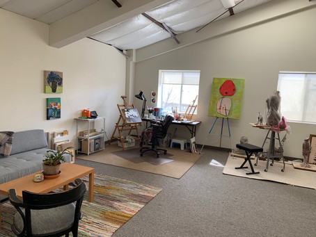 Love my new studio!