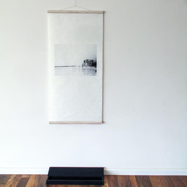 הדפסה על נייר יפני בגימור מגילה