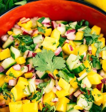 Paleo - Salate Mango & Avocado