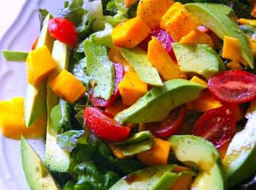 Vegan/Fără Gluten - Salata de Avocado și Mango