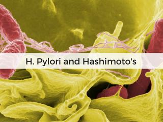 Remisia lui Hashimoto și Graves după eradicarea Helicobacter Pylori