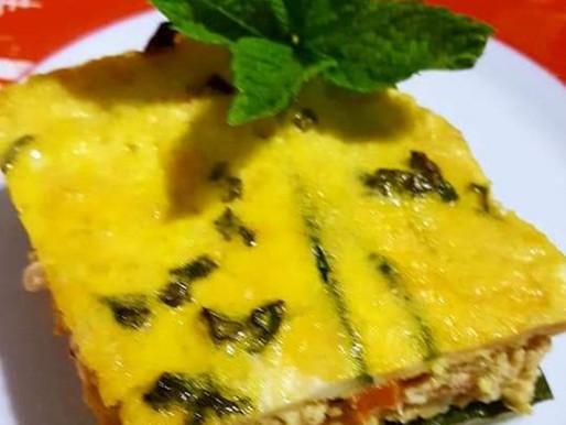 AIP/ PALEO - Musaca de Zucchini cu Pui