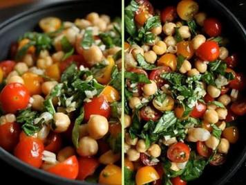 Vegan - Salată Lupin& Busuioc