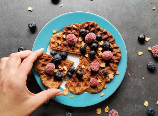 Fără Gluten/Vegan - Waffles cu Banane