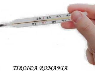 Verificați-va Tiroida - Tot ce va trebuie este un Termometru!