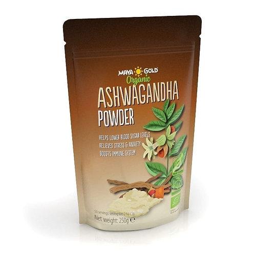Pulbere Ashwagandha, BIO-Vegan-Organic, 250gr