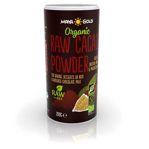 Cacao pulbere Raw-Vegan- Organic 200gr