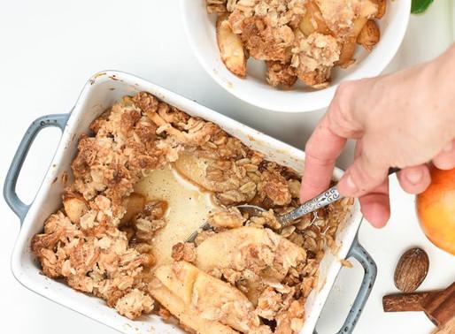 Fără Gluten/Vegan - Mere crocante
