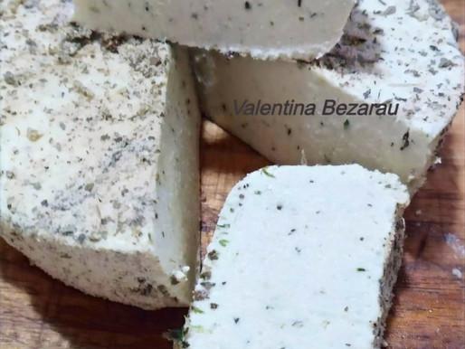 AIP/Paleo - Brânză Vegana din Cocos cu ierburi aromatice