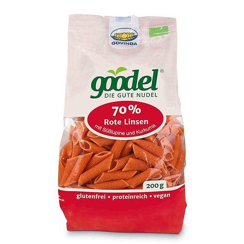 Paste Penne Linte Roșie, Bio-Vegan-Organic, 200g