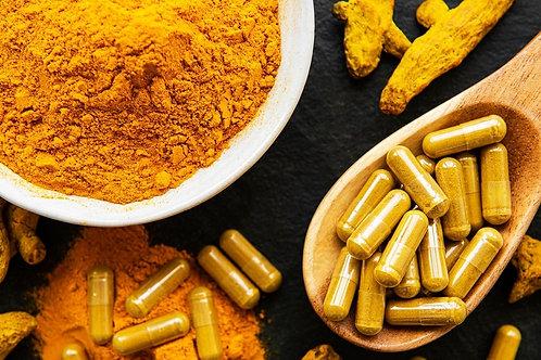 Supliment Curcuma/Turmeric, Bio - Vegan- Organic, 200 cps.