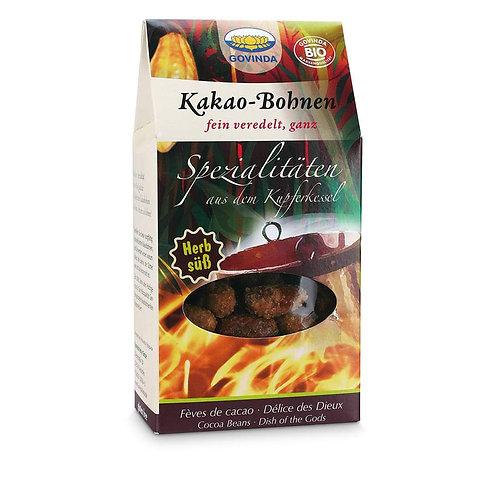 Boabe Cacao caramelizate, Bio-Vegan-Organic, 100g