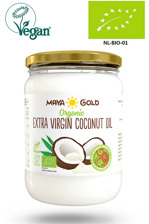 Ulei extravirgin de Cocos Bio-Vegan-Organic 500ml
