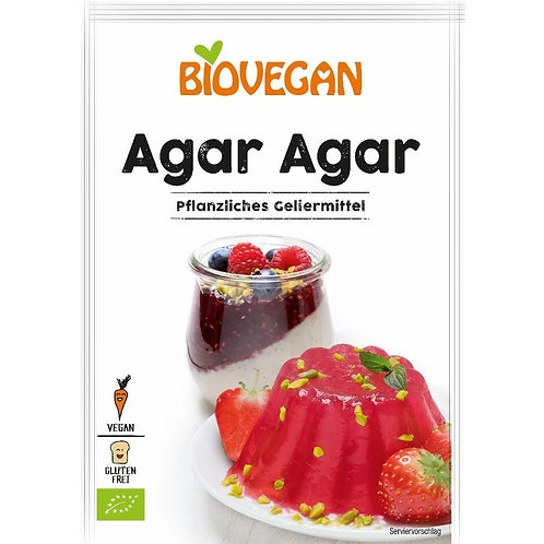 Agar Agar Bio-Vegan-Organic, 30gr