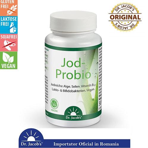 Iod, Seleniu& Probiotice, Bio-Vegan, 90 cps