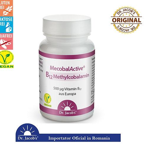 Vitamina B12 Vegana -Metilcobalamina, 60 cps