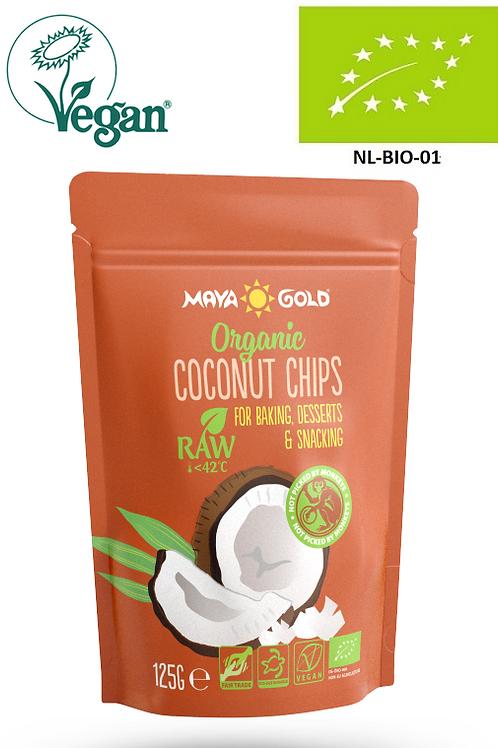 Chipsuri Cocos, Raw-Vegan-Organic, 125 g