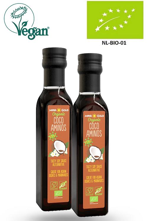 Sos Amino din nuca de Cocos Bio-Vegan-Organic, 250ml