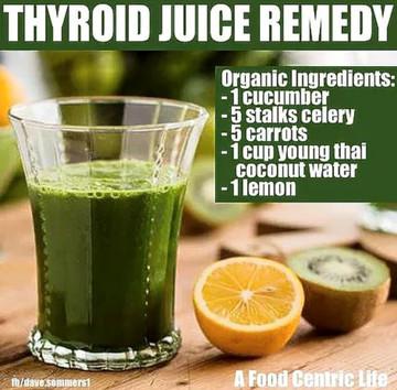 Juice Remediu în Tiroidă