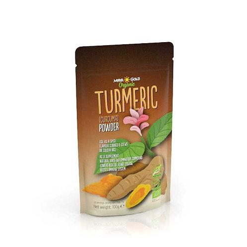 Pulbere Turmeric Bio-Vegan-Organic 100gr