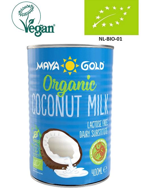 Lapte Cocos 17% grăsime, Bio-Vegan-Organic, 400ml