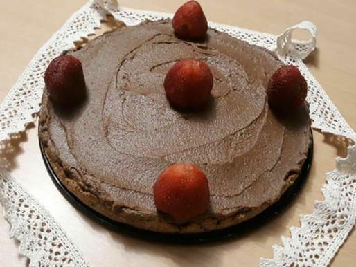 AIP/Paleo - Tartă cremoasă de Ciocolată