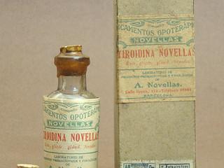 Hormonitiroidieni naturali/ Tiroida deshidratată