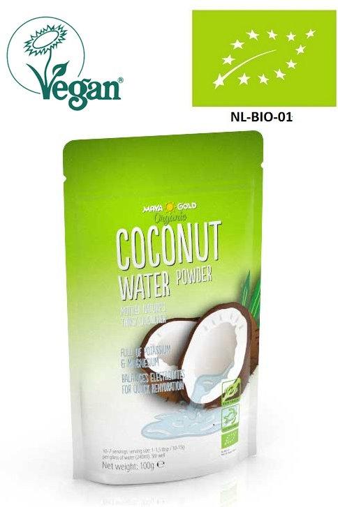 Apa de Cocos pulbere, Bio - Vegan -Organic, 100g