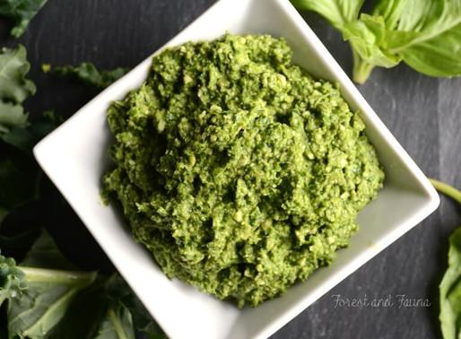 Raw/Vegan/Paleo - Pesto Kale