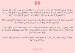 Happy Parent @ Nestlings Nursery Cardiff 7