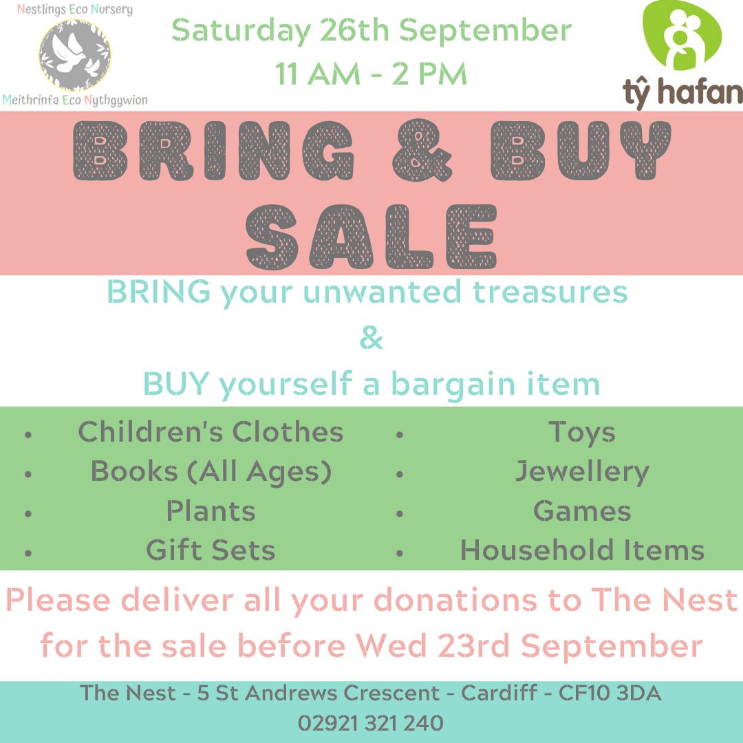 Bring & Buy Sale
