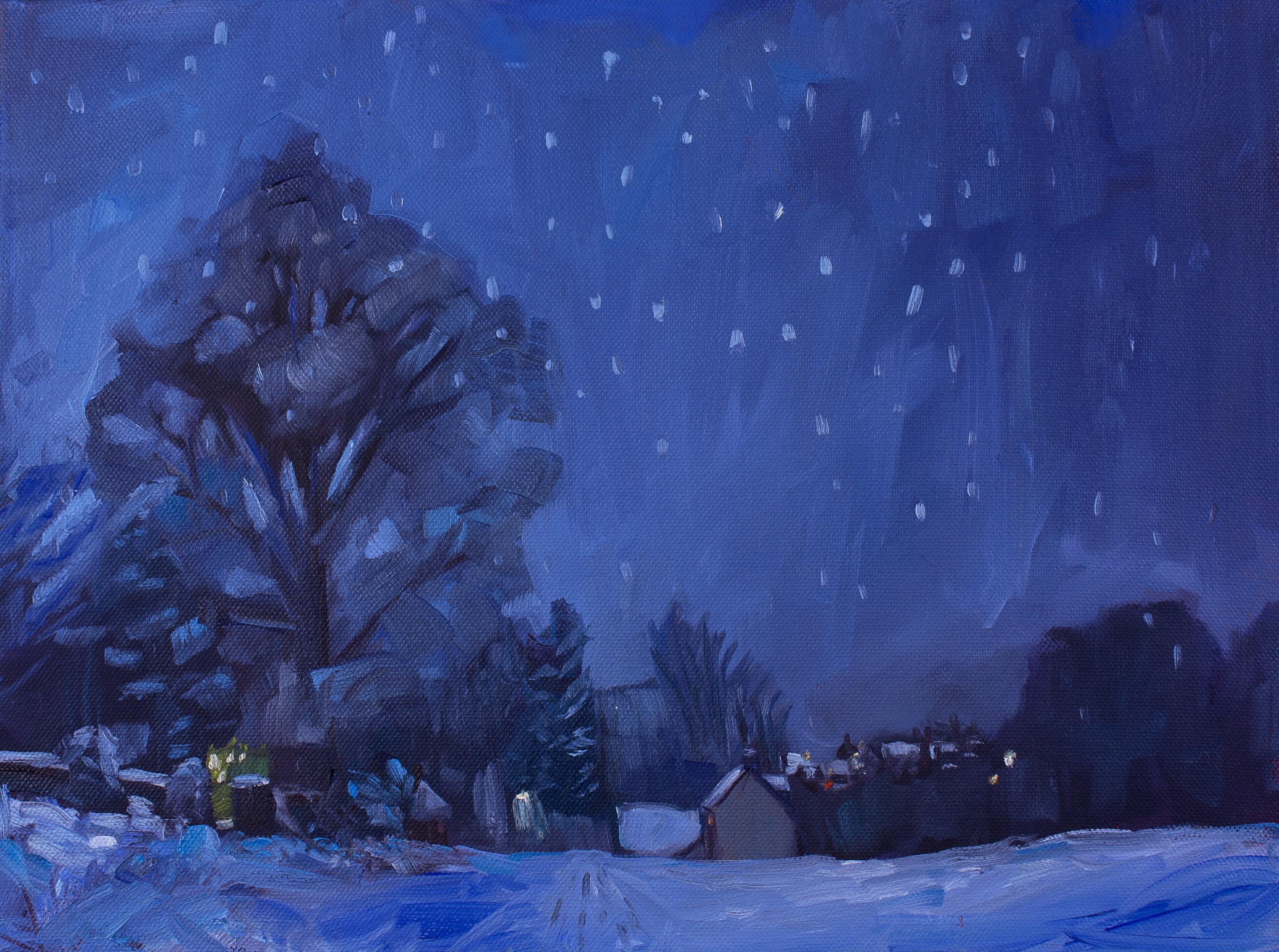 Snow on Ditchfield