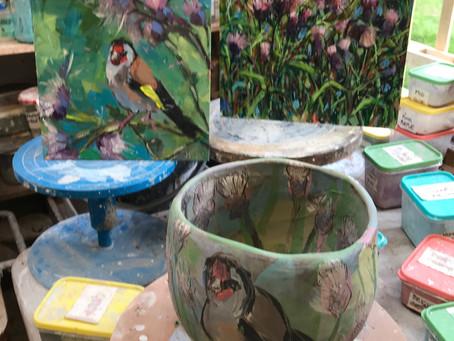Spring Exhibition Work 1 Goldfinch