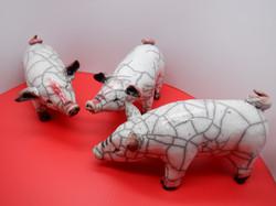Raku Pigs