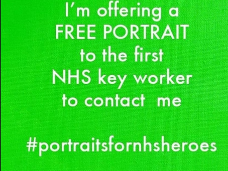 Portrait of a NHS Hero