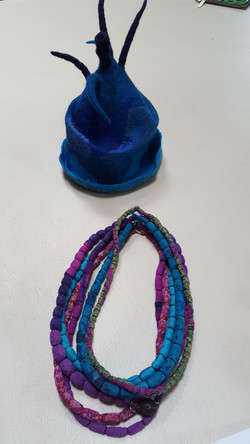 Hat and Beads