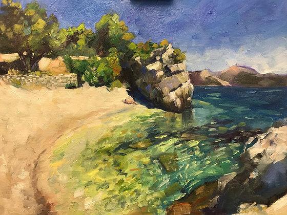 Cove on Kalamos