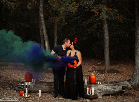 Couples Halloween Session!
