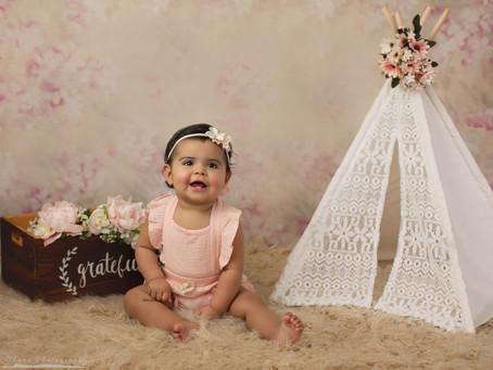 Carolina Grace is 8 Months Old