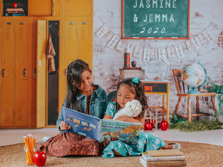 Jasmine & Jemma Back to School Photos