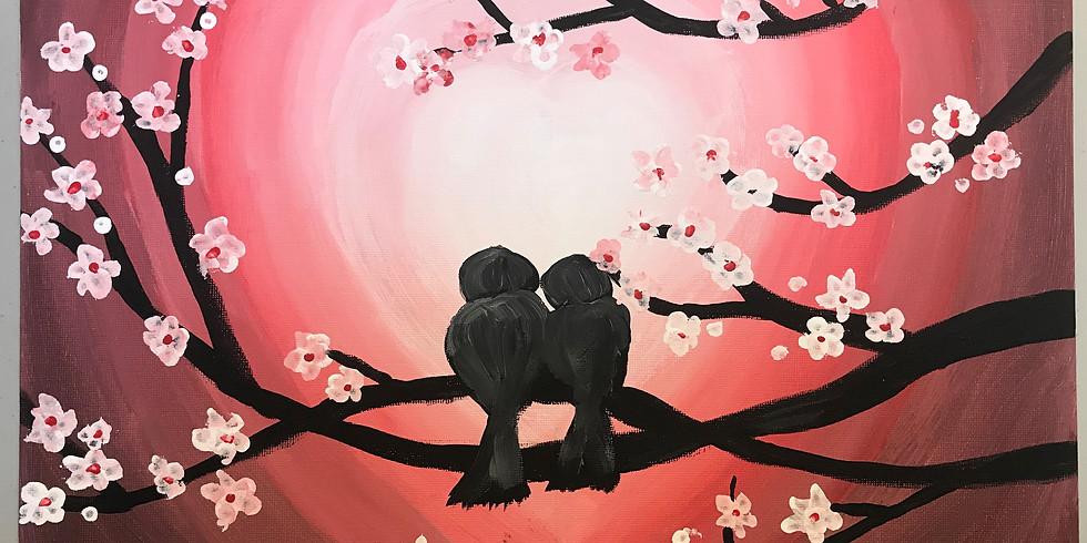Love Blossoms - Paint & Sip