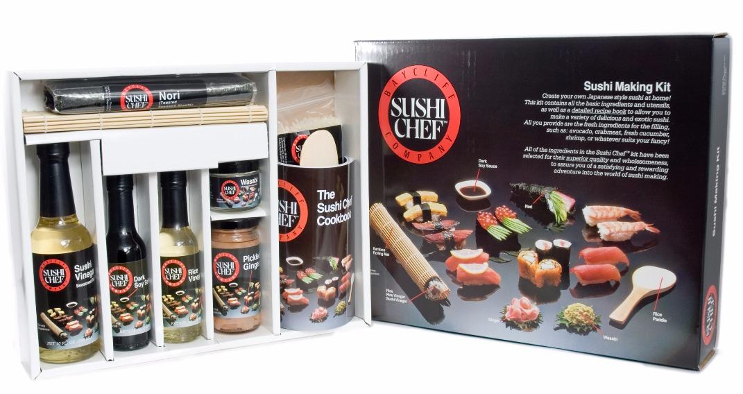 Inside Sushi Chef Sushi Making Kit