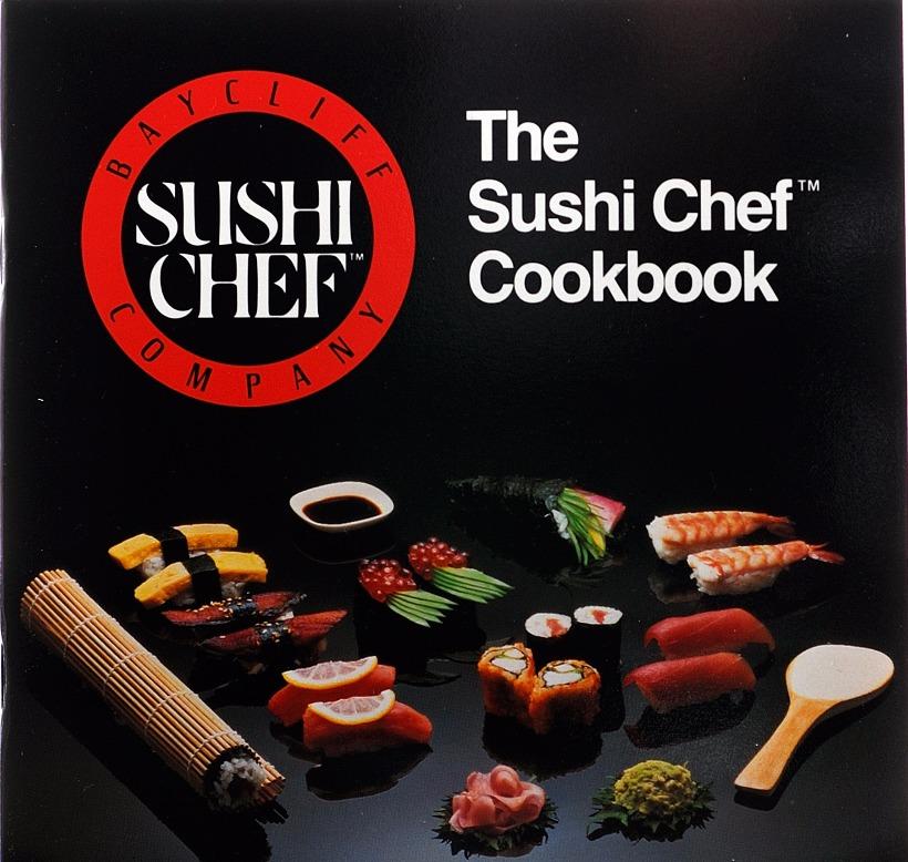 sushi chef cookbook