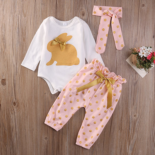 Golden Rabbit Set J