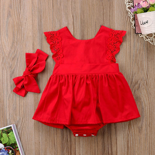Red beth Dress