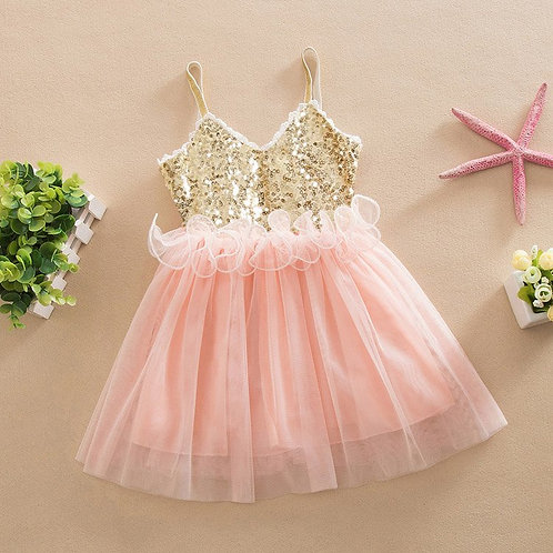 'Molly' Girls Party Dress P
