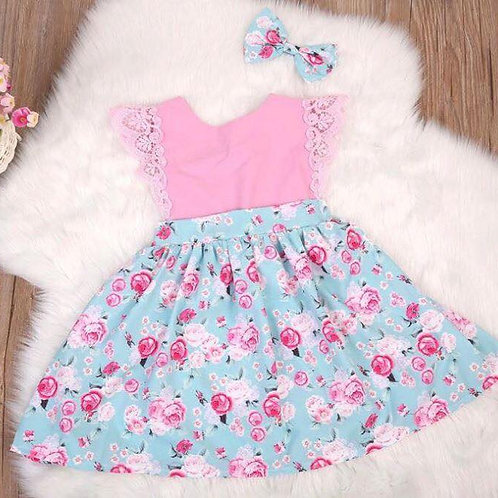 'Yasmin' baby girls Dress C