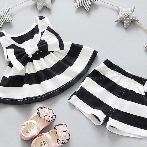 'Savannah' girls shorts Set