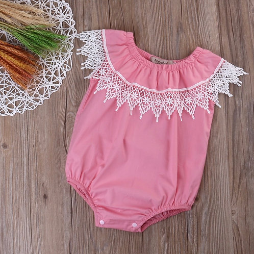 Newborn girls romper