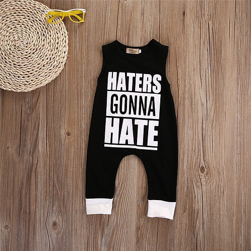 'Haters Gonna Hate' Boys Romper